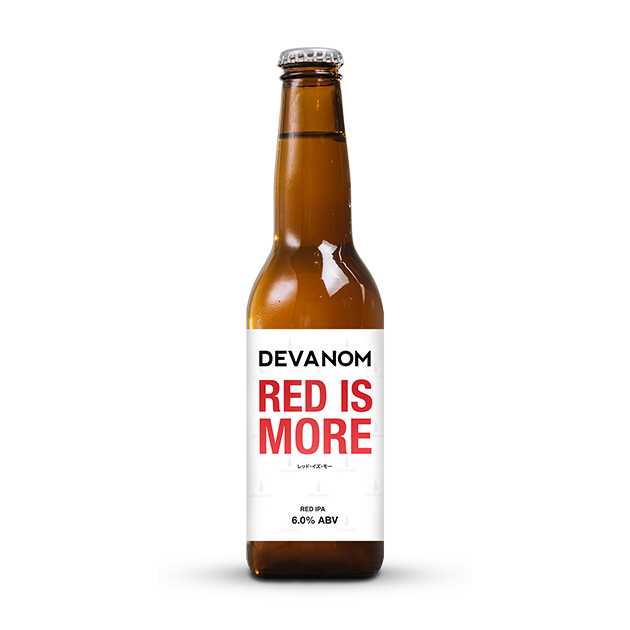 Red is More IPA (Red IPA) 6.0%