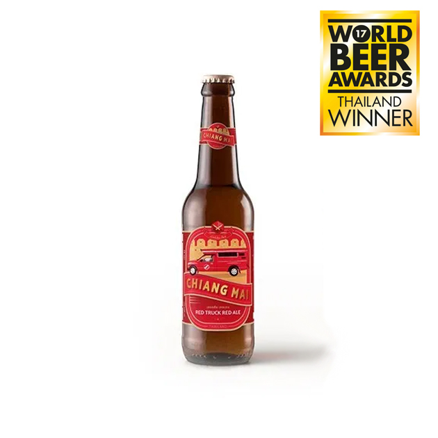 Chiang Mai Beer Red Truck ALE 330ML - 5%