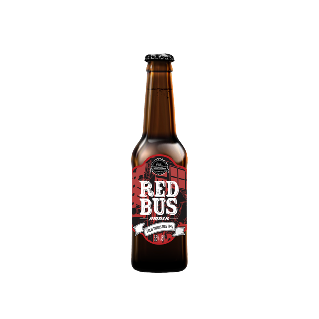 Stone Head Red Bus Amber 330ML ABV:5.5%