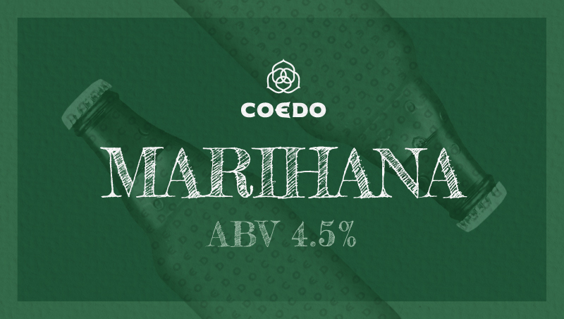 Coedo Marihana 毬花 ABV: 4.3%