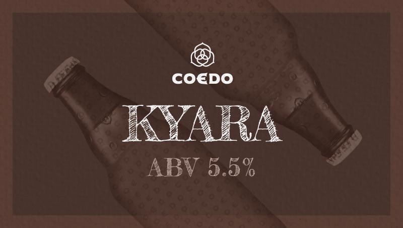 Coedo kyara  伽羅 ABV : 5.5%