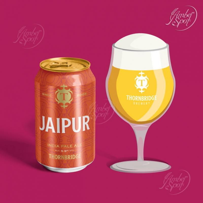 THORNBRIDGE Jaipur 5.9% India Pale Ale